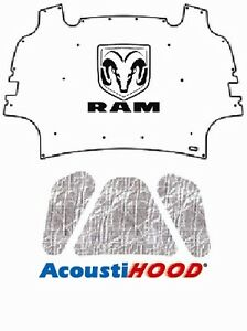 2009 2012 Dodge Ram Truck 1500 Under Hood Cover with M-015
