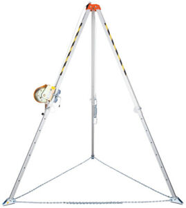 Rescue Tripod & 20mtr Winch Confined Space Work Equipment