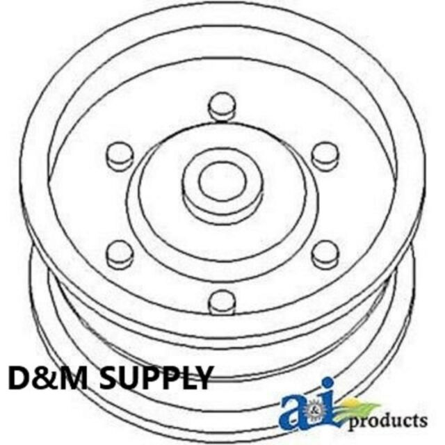 To fit Ford New Holland baler idler pulley 565 846 570 575
