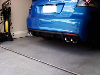 2 stainless steel dual exhaust tips 4 0 2 5 pontiac g8 gt gxp ss pair 2 5 4 0 ebay