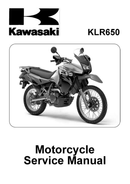 Kawasaki service manual 2008, 2009, 2010, 2011 & 2012