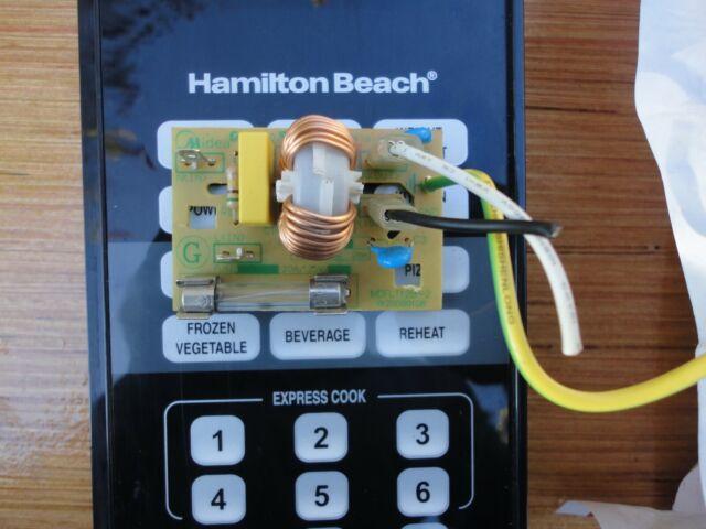 recertified hamilton beach fn0 5c00 microwave noise filter board 250v