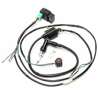Ignition Coil CDI Spark Plug Kill Switch for 50cc-160cc