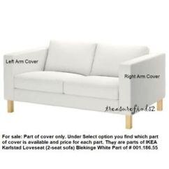 Karlstad Sofa Blekinge White Julius Leather Power Motion Reviews Part Of Ikea Loveseat Cover Slipcover