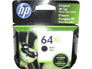 HP 64XL N9J92AN Black High Yield Ink Cartridge Genuine OEM Original 190780812006 | eBay