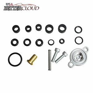 Fuel Pressure Regulator Spring &Seal Kit For 99-03 Ford 7