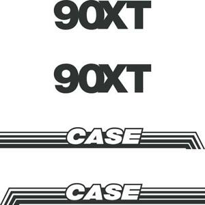 CASE 90XT Decals Stickers Skid loader Repro kit Old Style