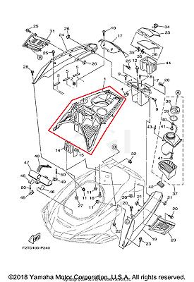 NEW OEM YAMAHA WAVERUNNER FX CRUISER HO ENGINE CENTER