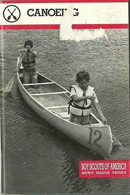 Canoeing Merit Badge Requirements : canoeing, merit, badge, requirements, VINTAGE, SCOUT, MERIT, BADGE, CANOEING