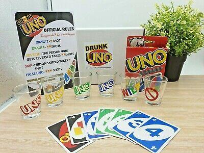 Drunk UNO Game Set 6 shot Original! Express Post send before 17/12/2020 | eBay