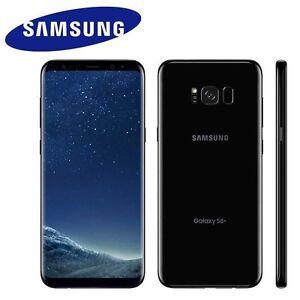 SAMSUNG GALAXY S8+ PLUS 128GB SM-G955 UNLOCKED PHONE 2960x1440 6GB (BLACK)