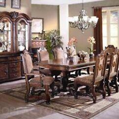 Formal Living Room Set Interior Design Divider Neo Renaissance 9 Piece Dining W China Cabinet Image Is Loading