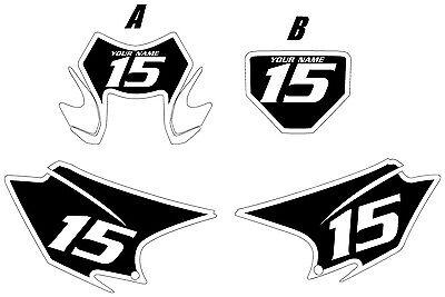 2015-2020 HONDA CRF150F Custom PrePrinted Black