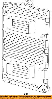 Dodge CHRYSLER OEM 2012 Journey 2.4L-L4 Ignition-Pcm