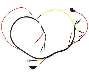 6 Volt Main Wiring Harness for Gas 4 Cylinder Ford (1953