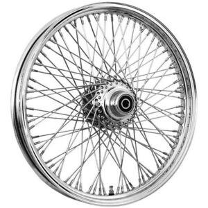DNA 16 x 3.5 inch 80 spoke chrome front wheel Harley