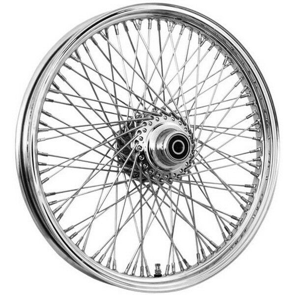 DNA 16 x 3.5 inch 80 spoke chrome front wheel Harley