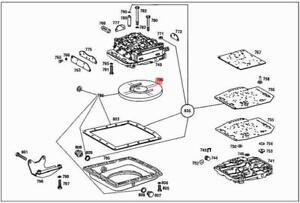 Genuine MERCEDES Transmission Filter Kit W108 W109 W111