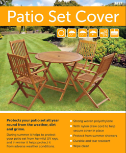 details about small heavy duty garden patio furniture rattan table chair cover outdoor