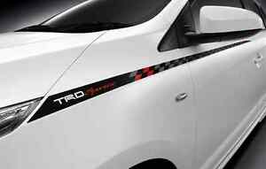 toyota yaris trd white harga grand new avanza 2018 2014 2015 genuine sticker body decal come with lh image is loading