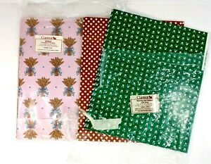 vintage current gift wrap