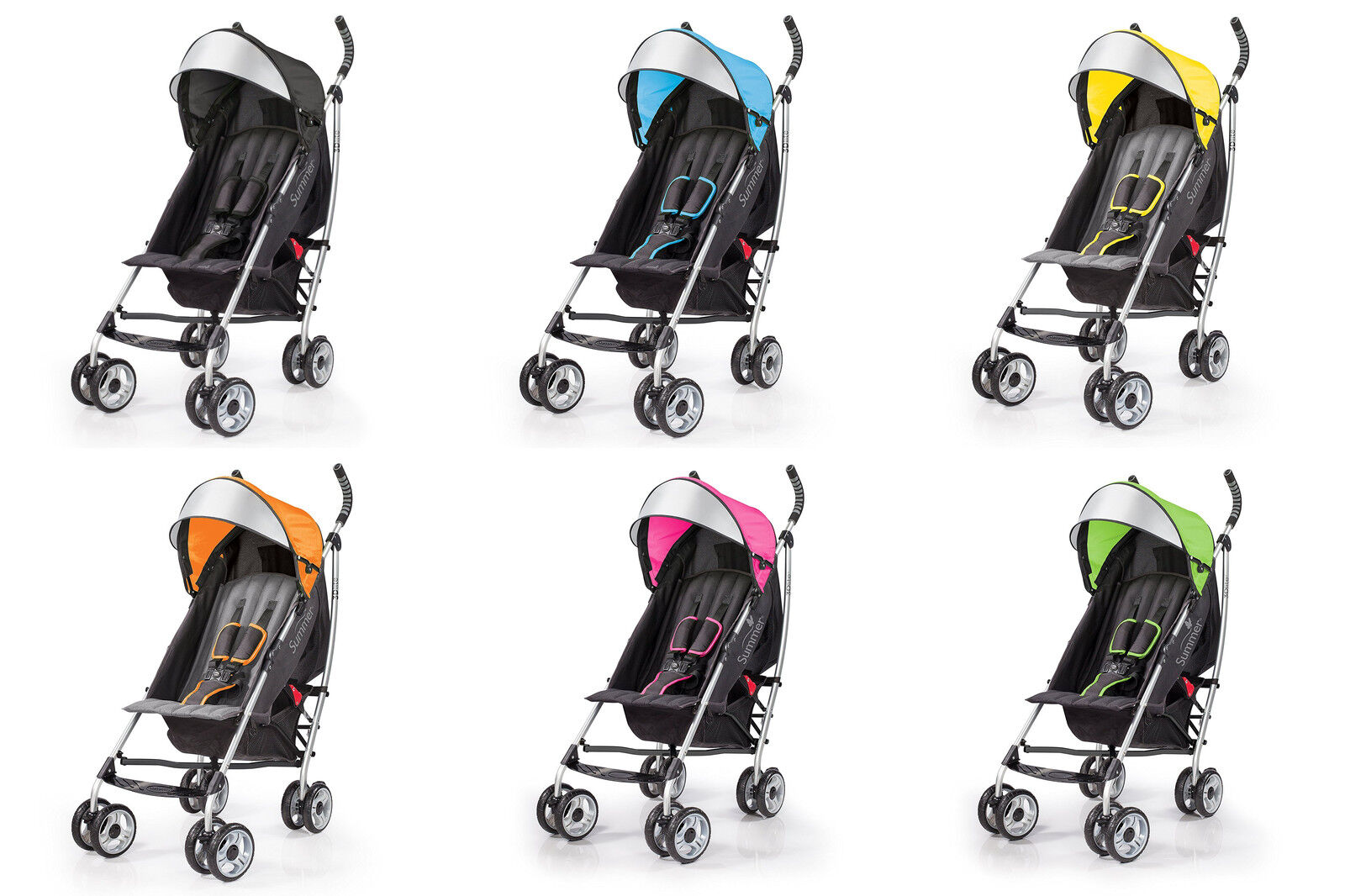 Summer Infant 3d Lite Convenience Stroller 6 Colors
