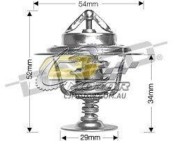 DAYCO Thermostat FOR Kia Sorento 8/07-9/09 2.5L DTFI Turbo