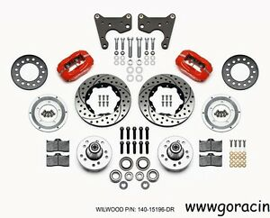 Wilwood Pro Series Front Brake Kit,Fits Plymouth Fury