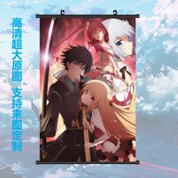 Anime ASSASSINS PRIDE Wall Home Decor Scroll