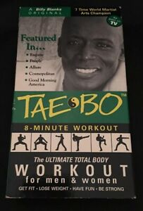 Tae Bo 8 Minute Workout : minute, workout, Billy, Blanks, Minute, Workout, Women