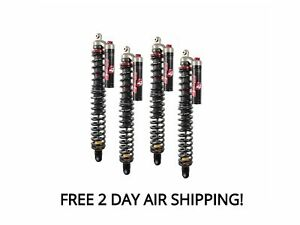 Elka Stage 4 Front and Rear Shocks Suspension Kit Arctic