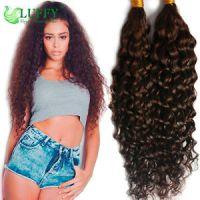 Curly Braiding Hair Bulk Brazilian Virgin Human Hair ...