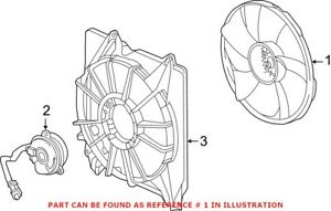 Genuine OEM Engine Cooling Fan Blade for Acura 190205J2A01