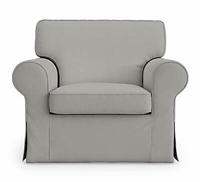 Apparently you can get replacement cushions from the 'as is' section if you ask. Ektorp IKEA Armchair Cover for The IKEA Ektorp Chair ...