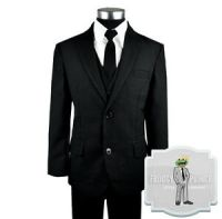 Kids Formal Wear Black Suit and Tie Includes Suit, Tie ...