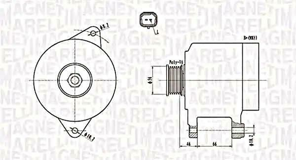 Alternator For RENAULT Espace III Laguna I Megane Scenic