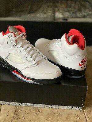 Are Jordan 5 True To Size : jordan, Jordan, Athletic, Men's, Shoes, White/Fire, Red/Black,