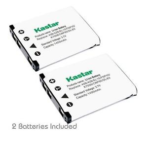 Kastar 42B Battery for Olympus FE-5020 FE-5010 FE-5020 FE