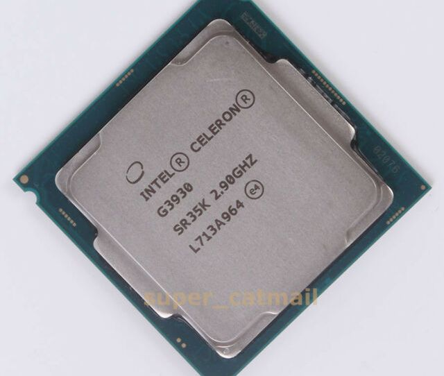 Working Intel Celeron G Ghz Sr35k Cpu Processor Lga 1151