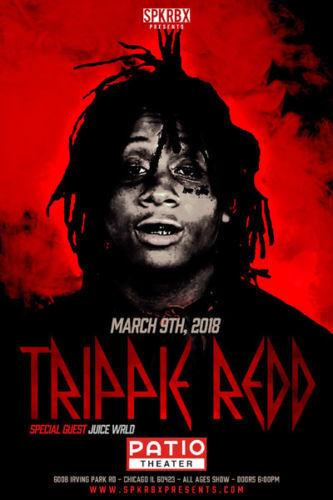 art h854 trippie redd hip hop rapper music live world tour 24x36 art silk poster art posters