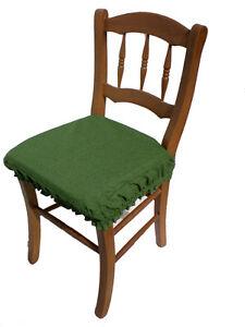 Io li ho scelti per le sedie della mia cucina in muratura. Za419 Cuscino Vesto Per Sedia Da Cucina Cm38x38 H Cm4 In Cotone Vari Colori Ebay