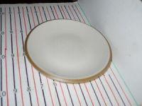 DANSK SANTIAGO BEIGE / WHITE SALAD PLATE   eBay