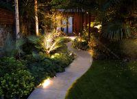 LED Garden Spike Lights Adjustable IP65 4W GU10 240v Mains ...