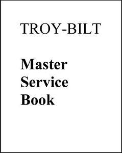 1980 to 1985 TROY BILT MASTER SERVICE REPAIR MAINTENANCE