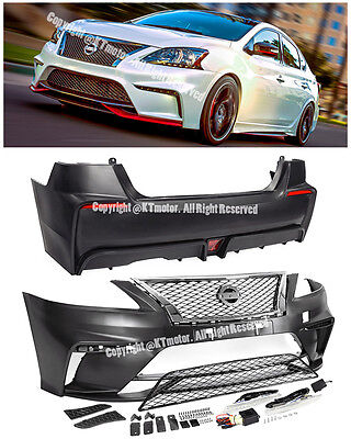 2015 Nissan Sentra Body Kit : nissan, sentra, 13-15, Nissan, Sentra, Style, Front, Conversion, Bumper, Cover