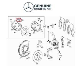 For Mercedes W204 W212 W221 C216 Rear Parking Brake