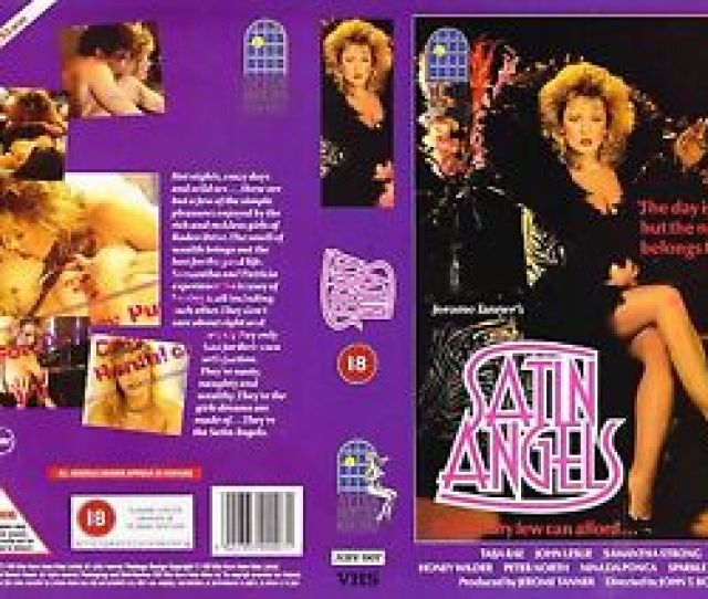Image Is Loading Satin Angels Taija Rae Video Promo Sample Sleeve