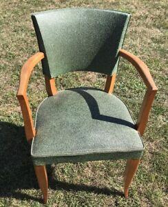 fauteuil bridge ancien style scandinave