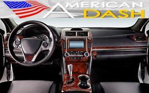 interior all new camry 2016 foto grand veloz toyota le se hybrid xle xse wood dash trim kit set image is loading