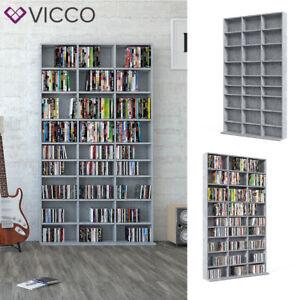 details sur etagere murale vicco pour cd et dvd etagere sur pied etagere media etagere